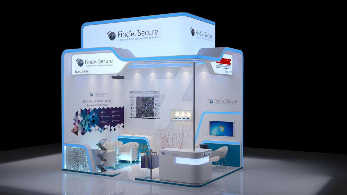 D Exhibition Stands : D exhibition stand for gitex by manindar on deviantart