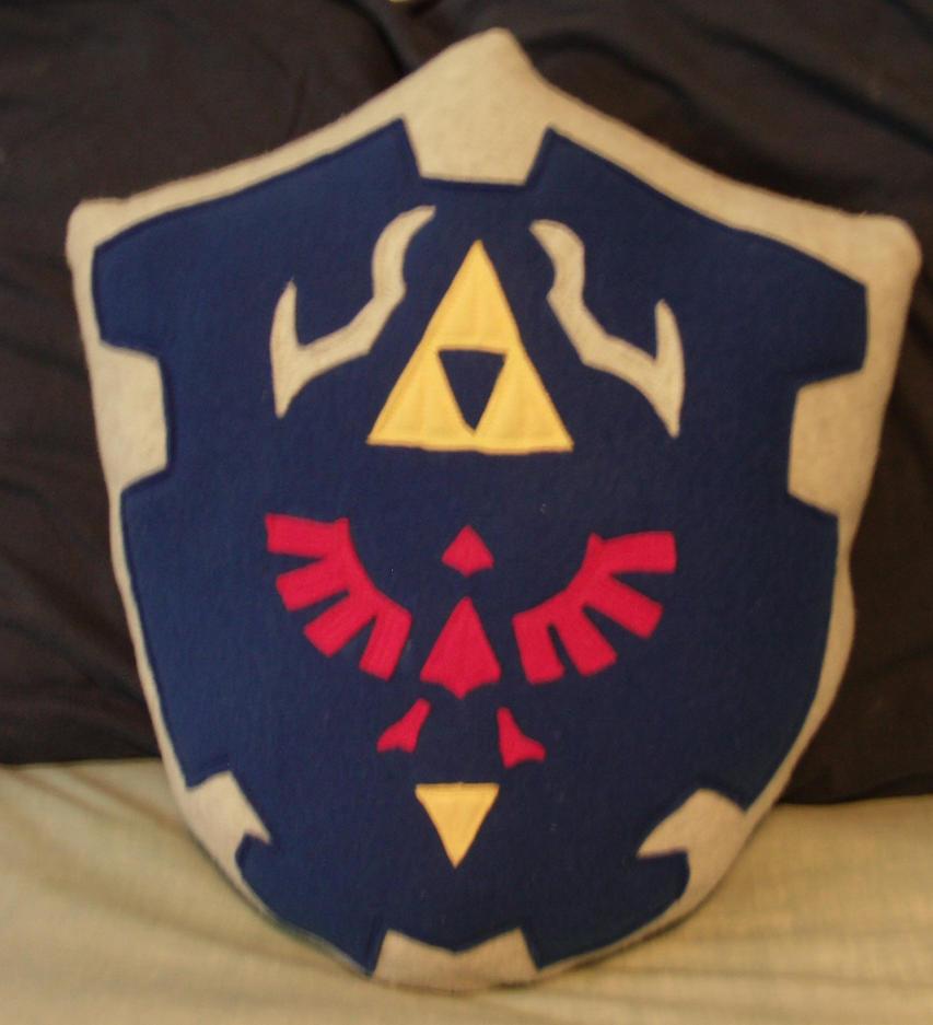 Hylian Shield Pillow by nenfere