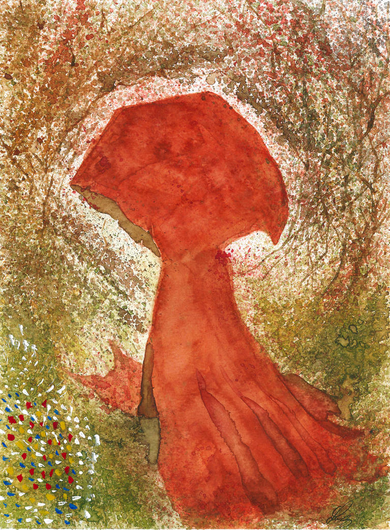 Little Red Riding Hood- Chapeuzinho by LuizEvaristo
