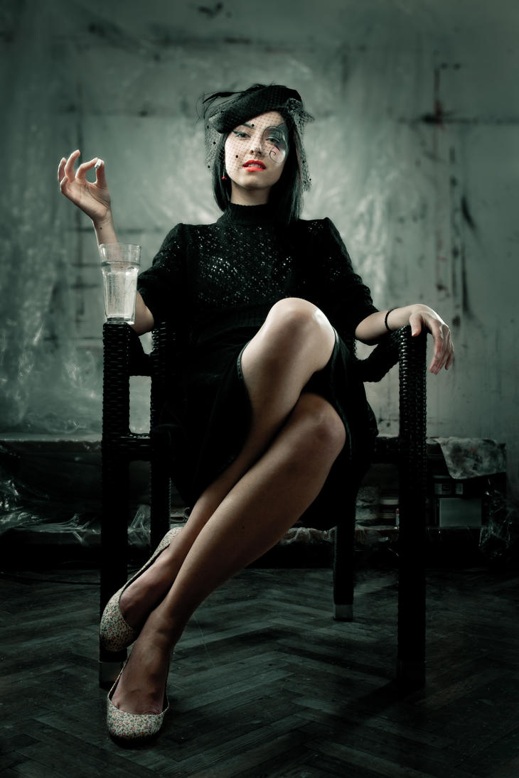 Professional widow by xn3ctz