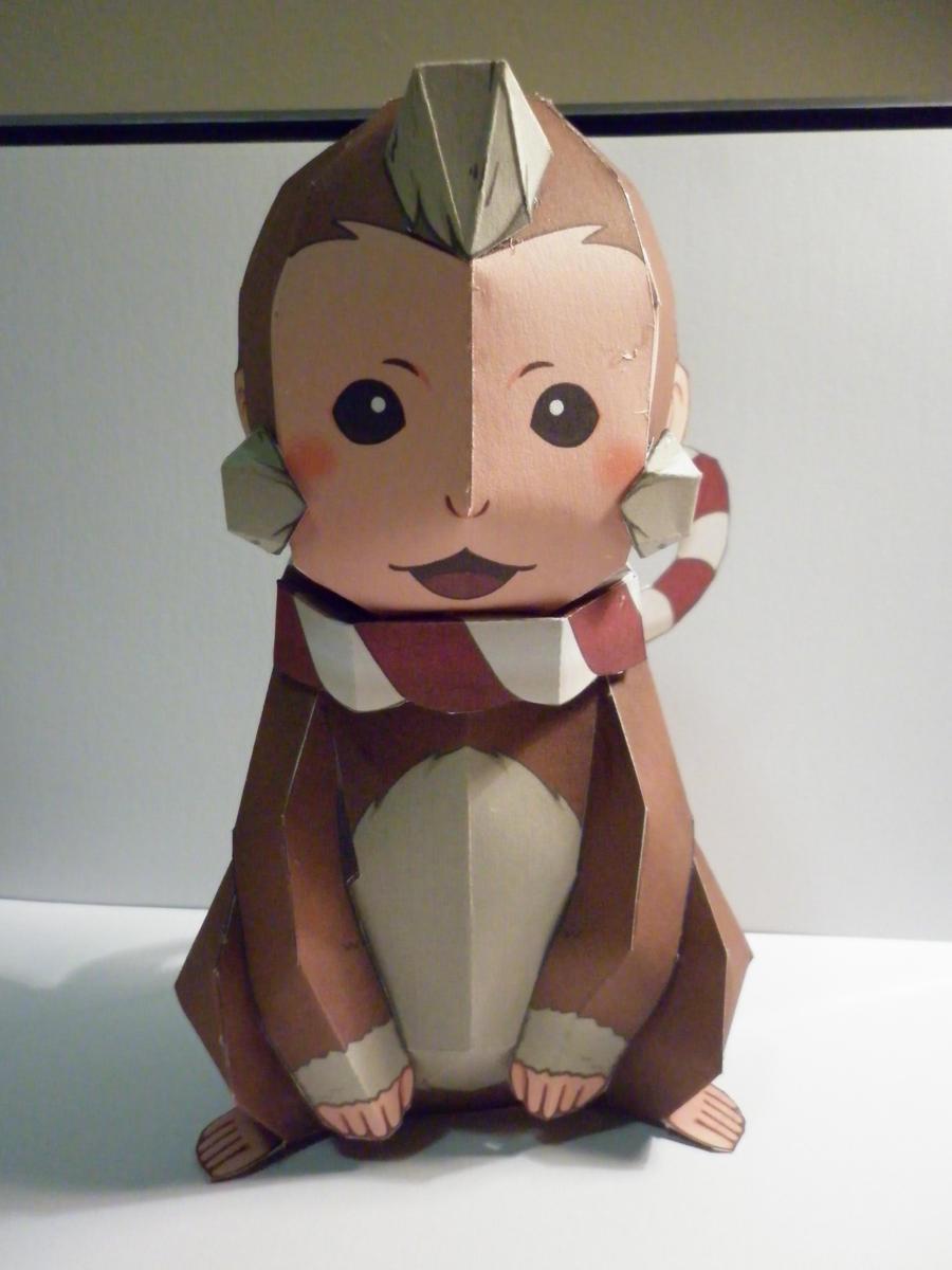 Yumekiti from Sengoku Basara Papercraft by hoshiterasu