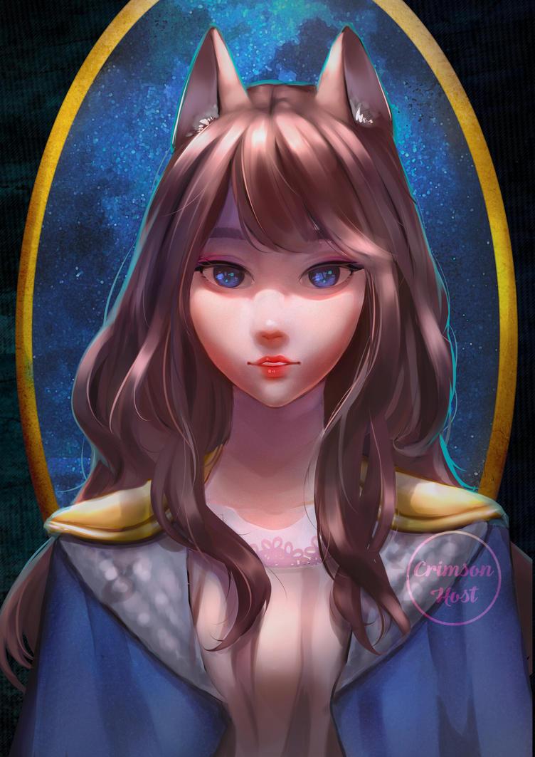 Fox Girl by Crimson-Host
