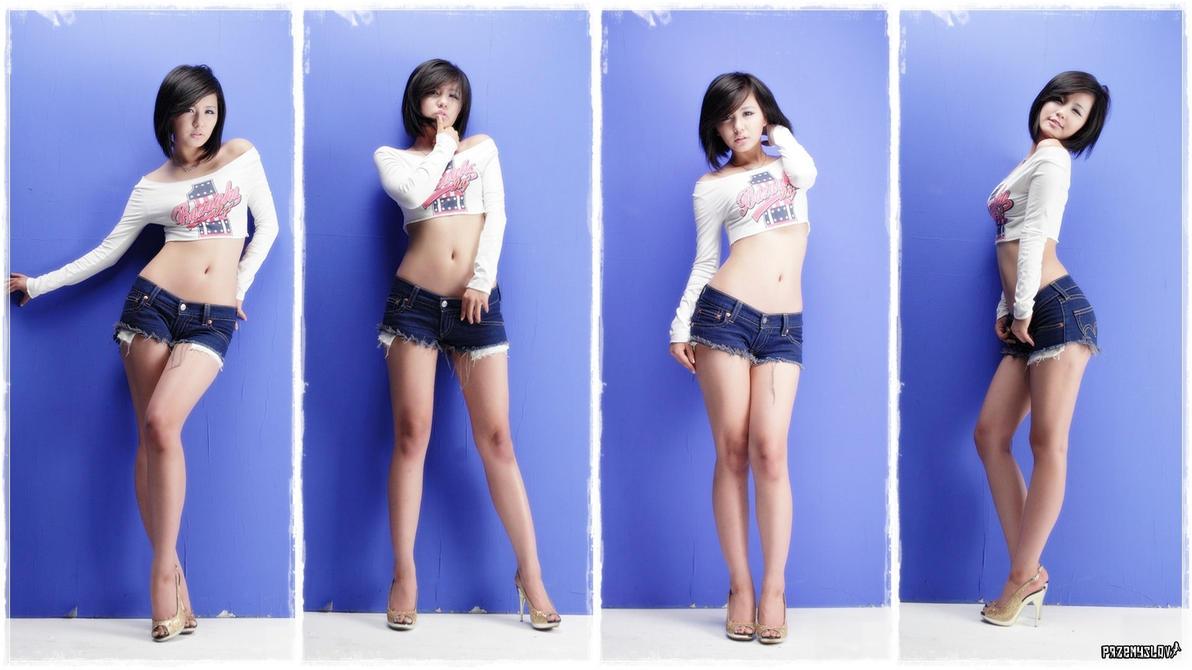 Wallpaper - Ryu Ji Hye $1$ by Przemyslav