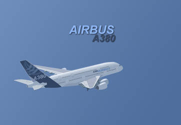 Airbus A380 by emberInc