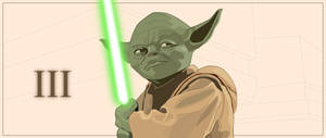 Vectorized, Master Yoda is by emberInc