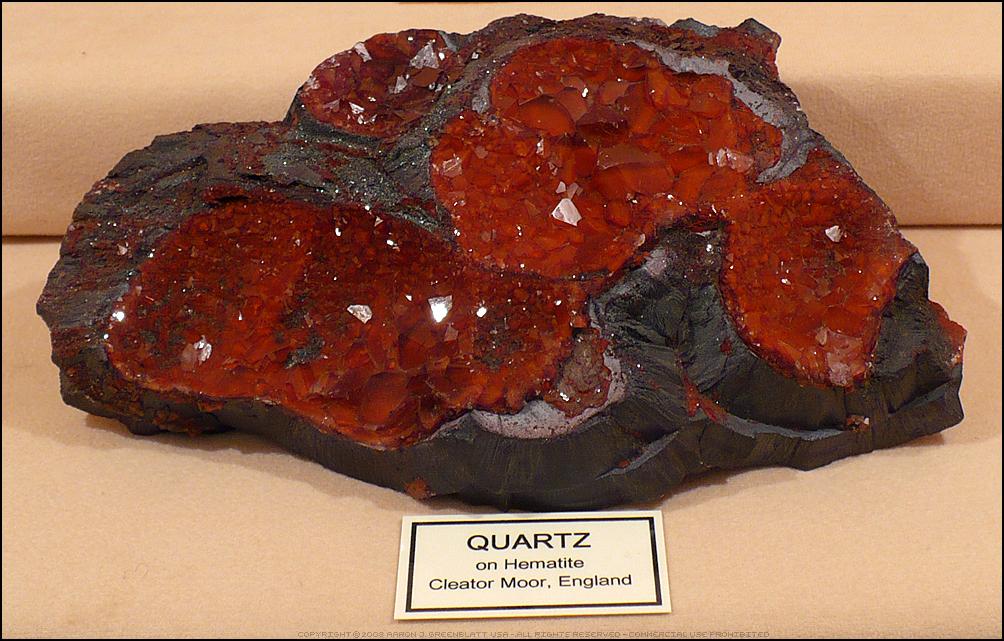 Quartz On Hematite by Undistilled