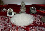 Herkimer Display Crystal Pile