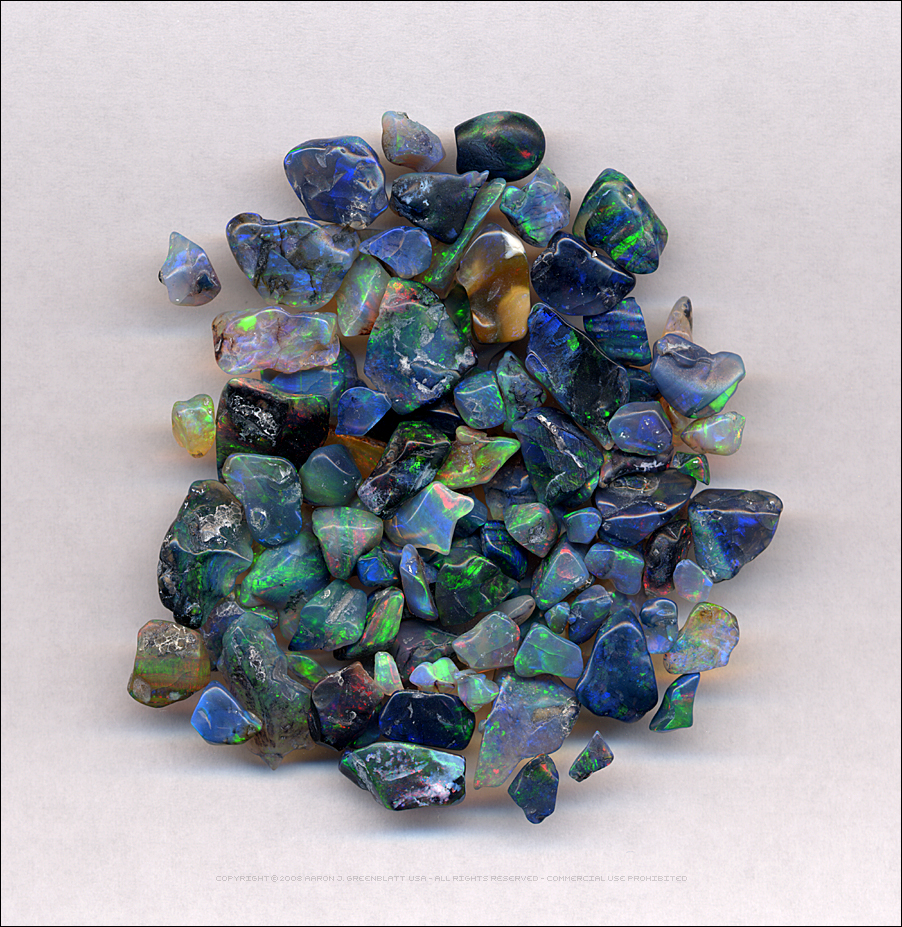 Tumble Polished Opals by Undistilled