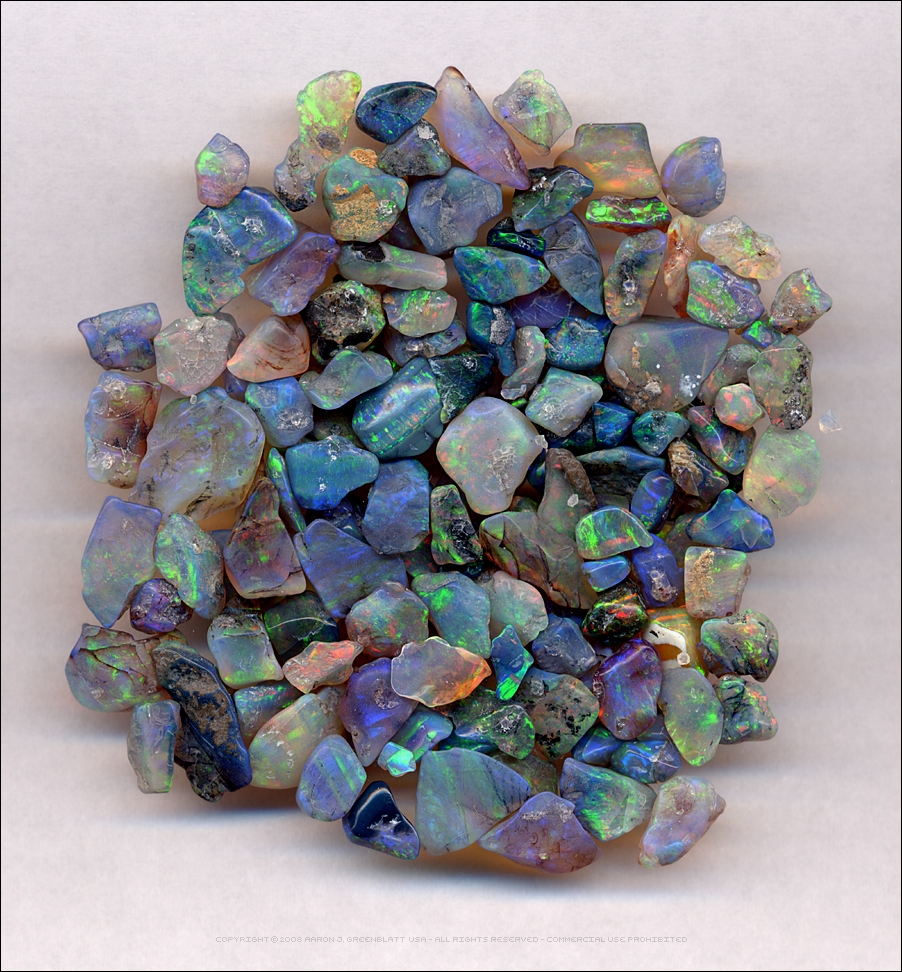 Tumbled Opals by Undistilled