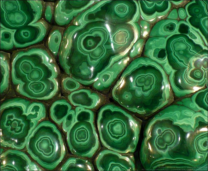 Malachite Closeup by Undistilled