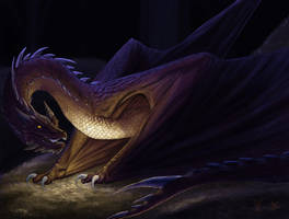 Smaug the Stupendous by Aerophoinix