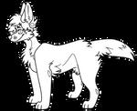 F2U DOG BASE // mspaint friendly png+psd