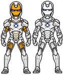 Iron Man 2 Artic Armor