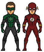 JL Movie -GL and Flash- by Facumagia