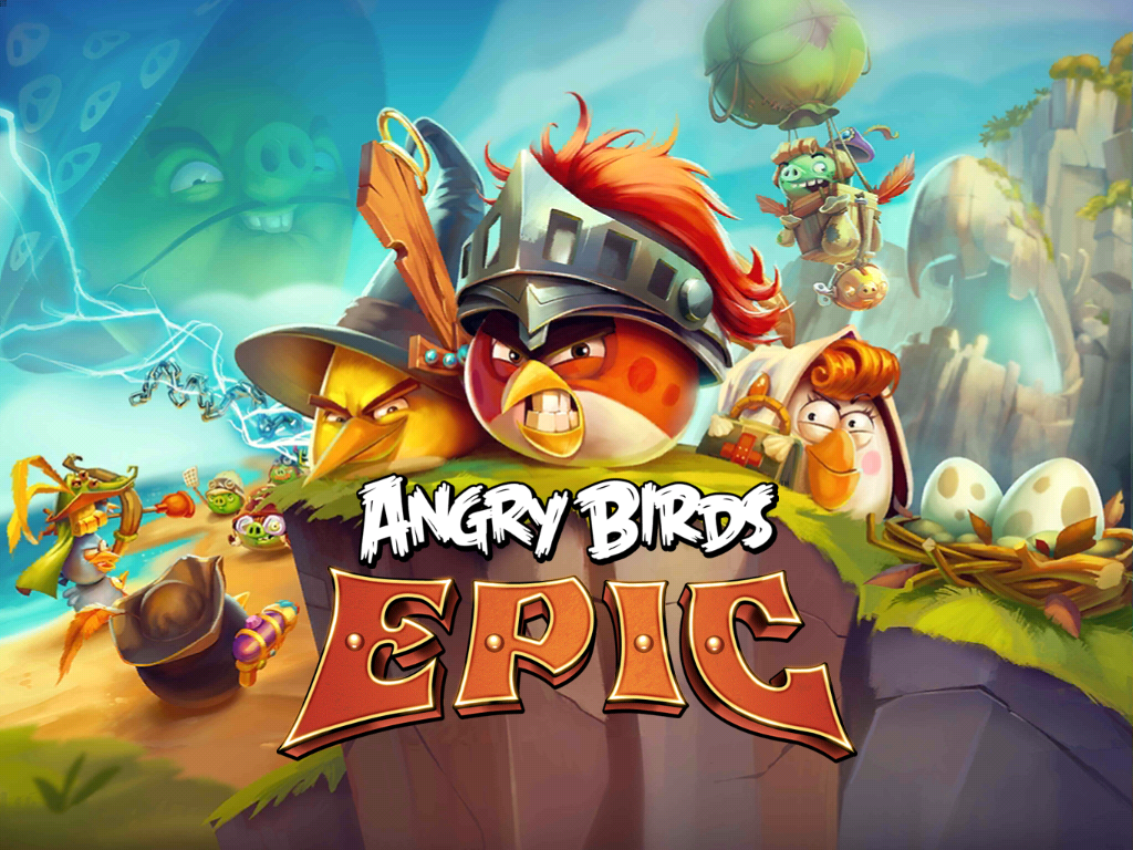Angry Birds Epic new title screen by Alex-Bird on DeviantArt