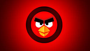 The Angry Birds Symbol Wallpaper