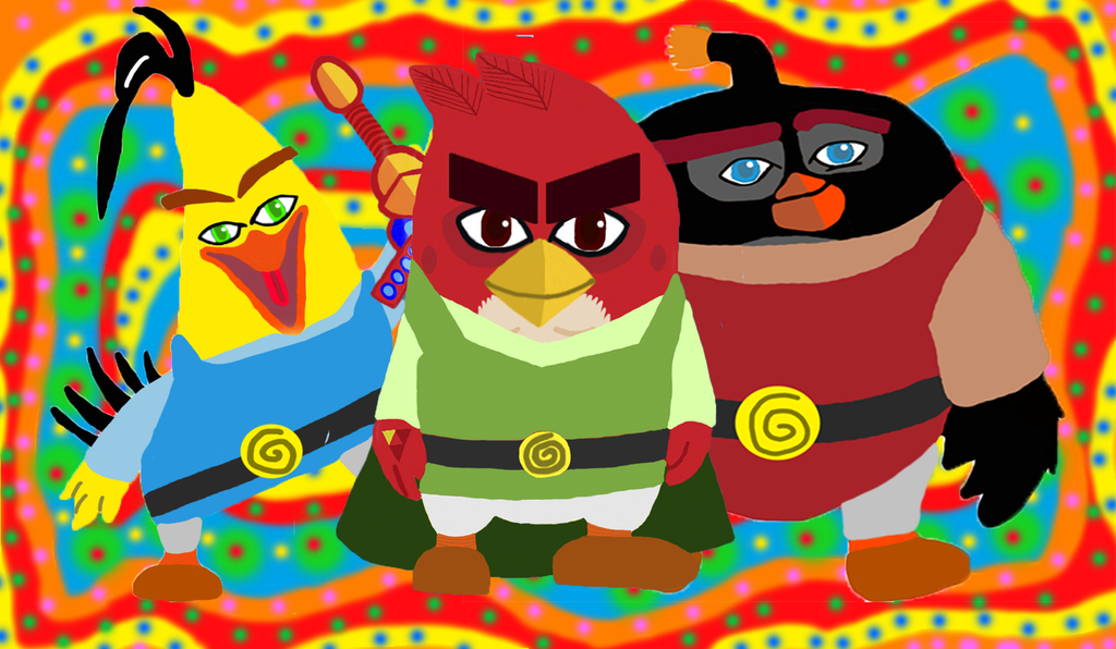 Angry Birds characters as Super Heroes - PixelVulture
