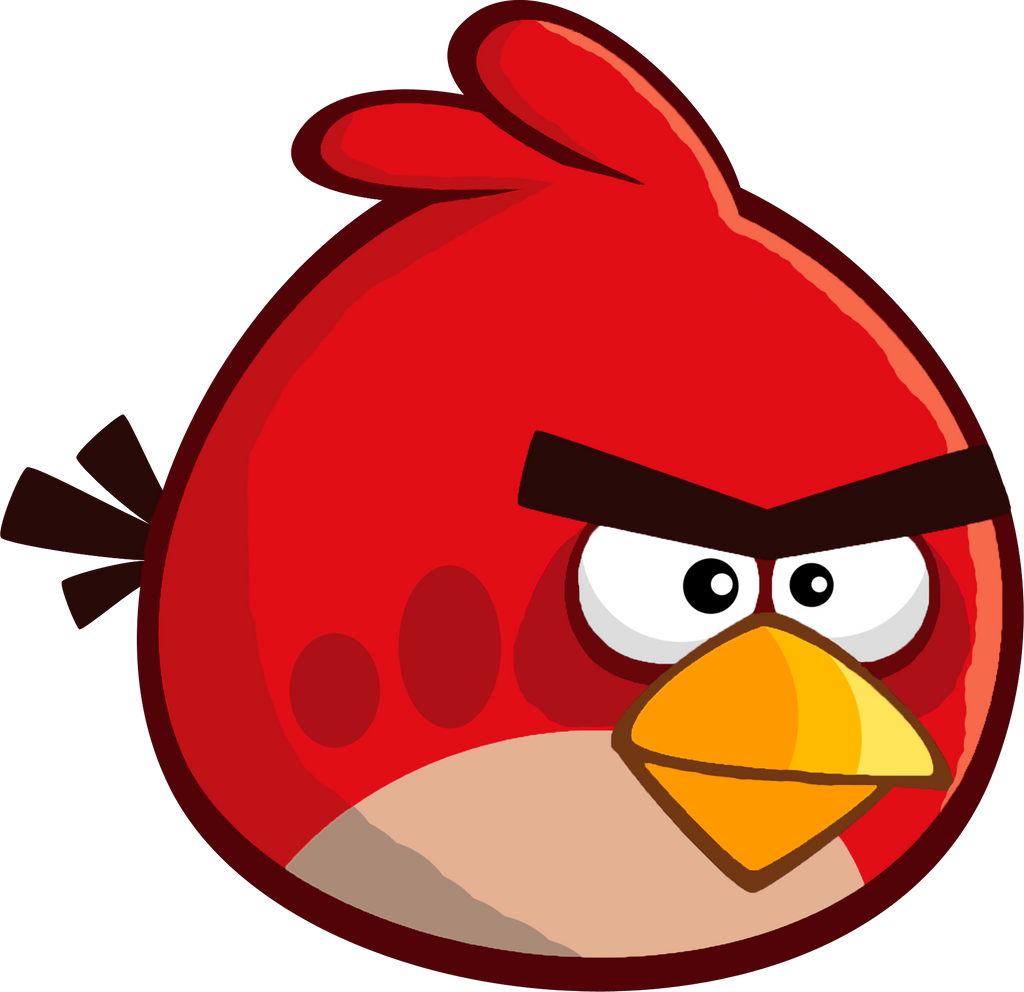 angry birds remastered red by alex bird on deviantart. Black Bedroom Furniture Sets. Home Design Ideas