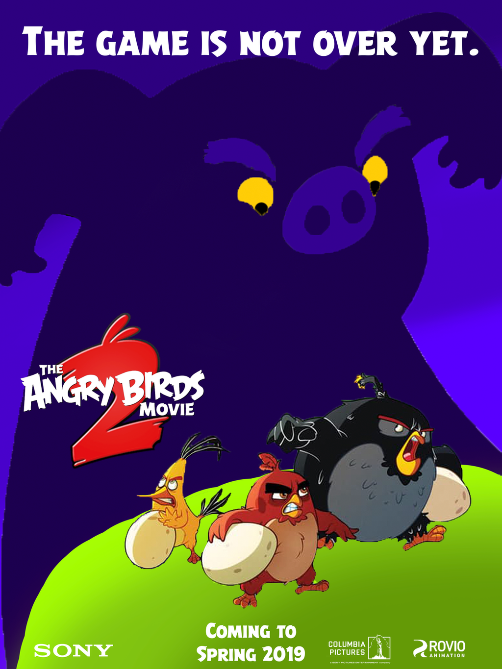 The Angry Birds Movie 2 - Poster 2 (fan made) by ...