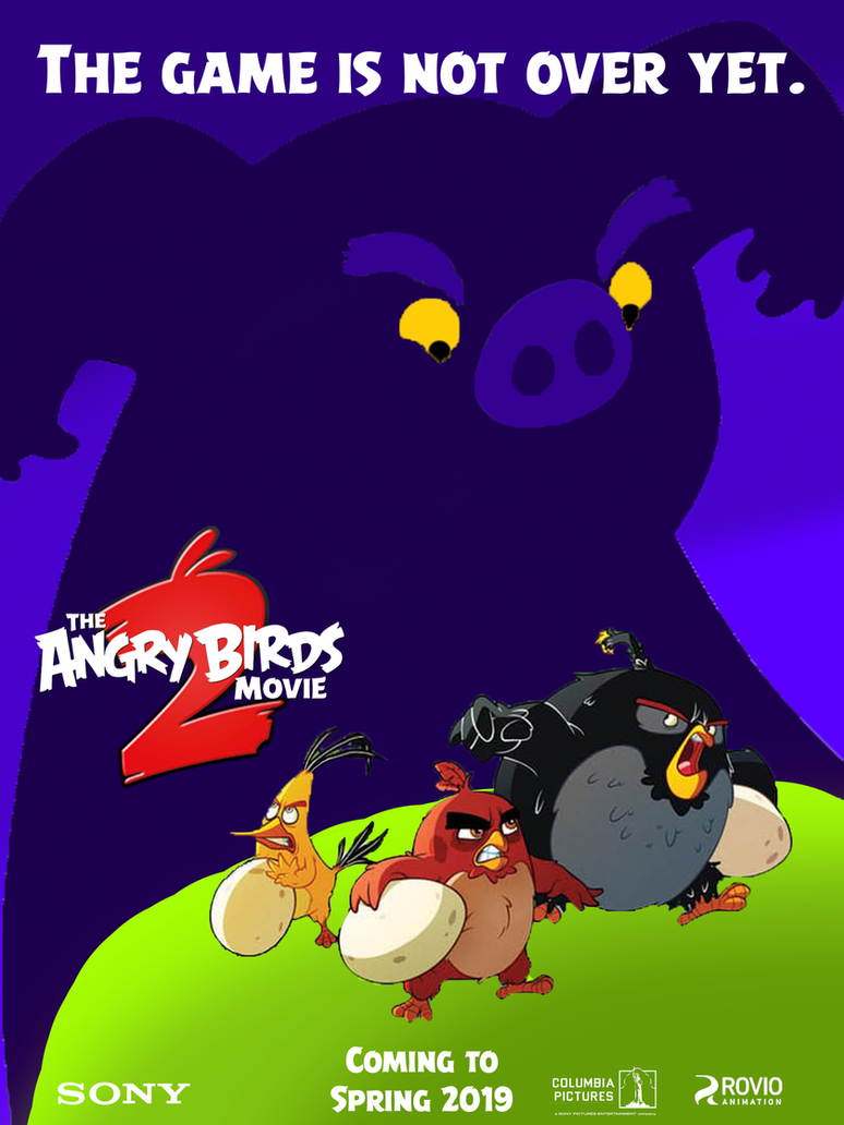 The Angry Birds Movie 2 - Poster 2 (fan made) by AlexBird2581HD on ...