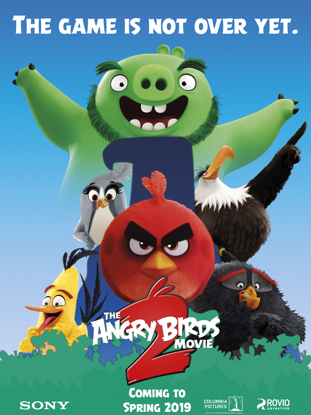 The Angry Birds Movie 2 - Poster 3 (fan made) by ...