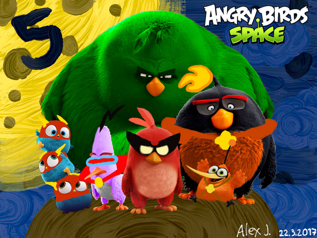 The Angry Birds Space Movie (5th Anniversary) by ...