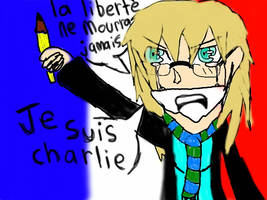 je suis charlie by Haleythecat