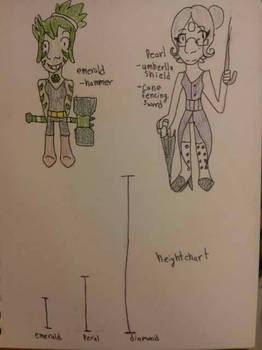 pearl and emerald