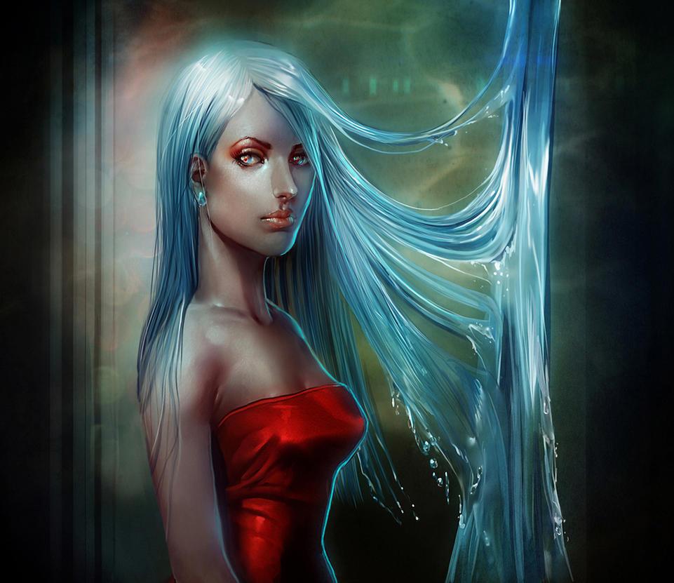 Mermaid Hair by JenPenJen