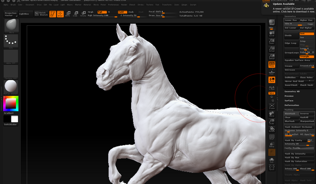 first zbrush wip by eponagirl-d65iybn png  1024  215 595 Zbrush Interface