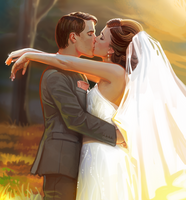 Wedding Commission by EponaDraws