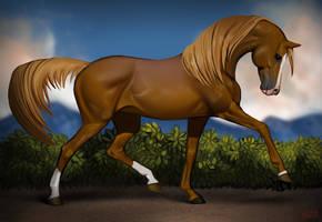 IPad horse