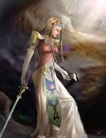 Zelda by EponaDraws