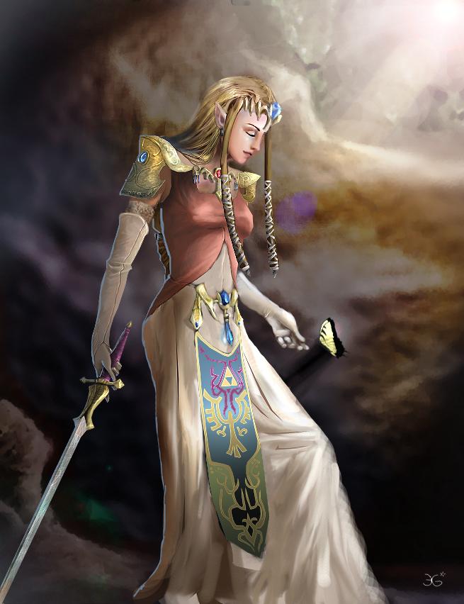 Zelda by JenPenJen