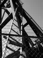 Oil Rig Ladder by cehannan