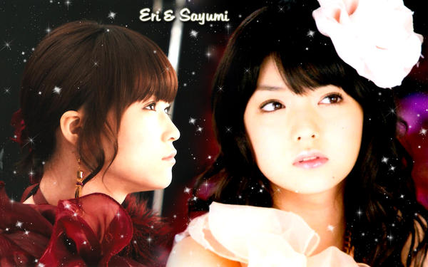 Wall Eri y Sayumi ver Fantasy by RainboWxMikA
