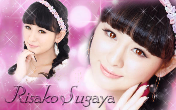 Wallpaper Risako Sugaya by RainboWxMikA