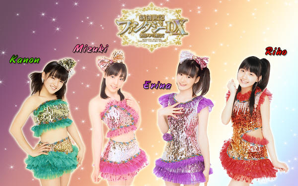 Wall Morning musume DX 9 gen by RainboWxMikA