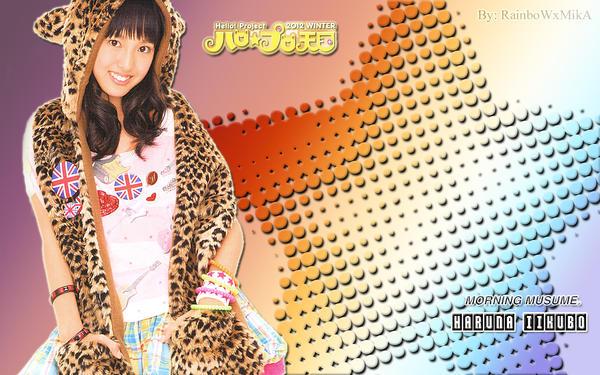 Wallpaper Momusu Winter 2012 Haruna ver by RainboWxMikA