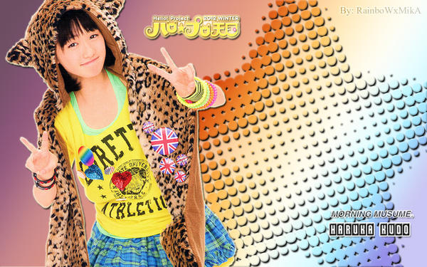 Wallpaper Momusu Winter 2012 Haruka ver by RainboWxMikA