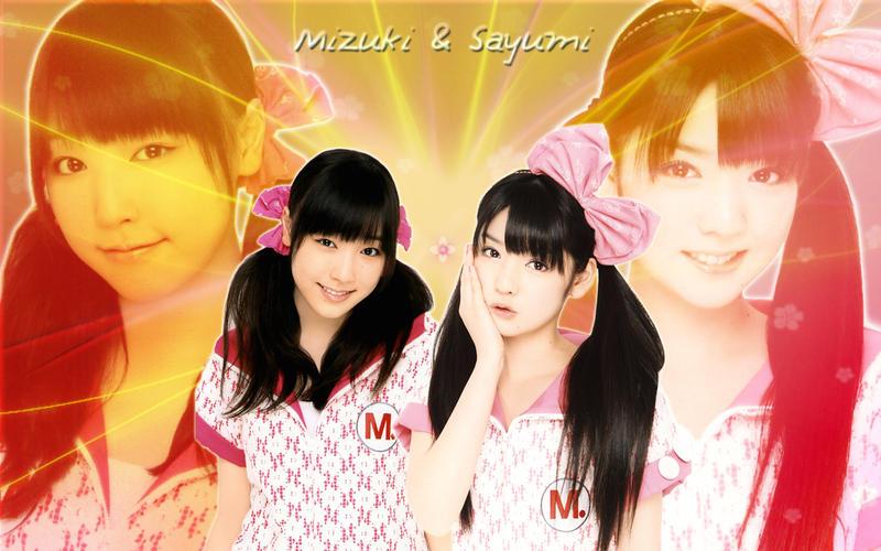 Wall Sayumi and Mizuki by RainboWxMikA