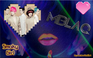 Wall Mblaq Smoky girl ver by RainboWxMikA