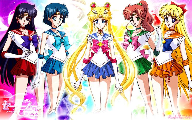 Wall Sailor Moon Crystal by RainboWxMikA
