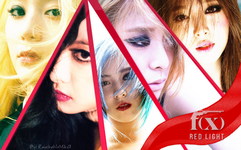 Wallpaper F(x) - Red Light ver. F(x) Sulli 2014 Red Light