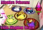 Alfombra Kingdom Hearts by RainboWxMikA