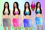 Skirt Flower Transparent by RainboWxMikA
