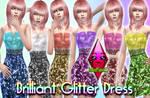 Brilliant Glitter Dress by RainboWxMikA