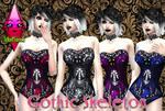 Swimwear Gothic Skeleton by RainboWxMikA
