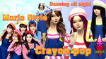 Crayon Pop Dancing all night sims 4 ver by RainboWxMikA