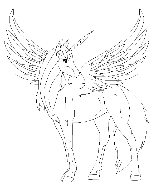 Mlp Alicorn Coloring Pages Coloring